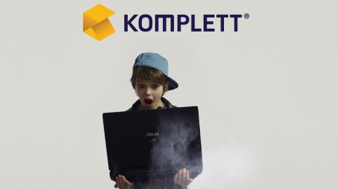 * Client: Komplett * Produced by: Shoot Happens * ztix: VFX, Animation, On set Supervision